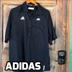 Adidas Climalite Black Shirt Size Large